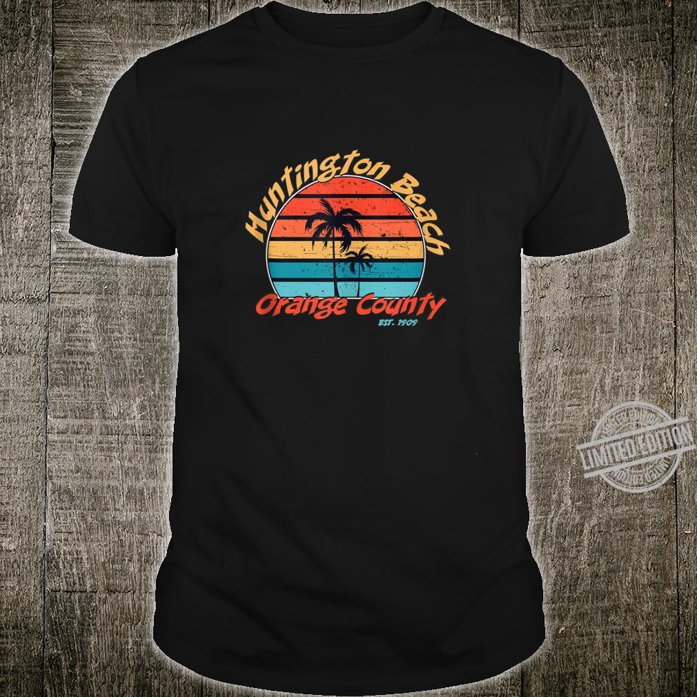 Huntington Beach Orange County Est 1909 Vintage Retro Shirt