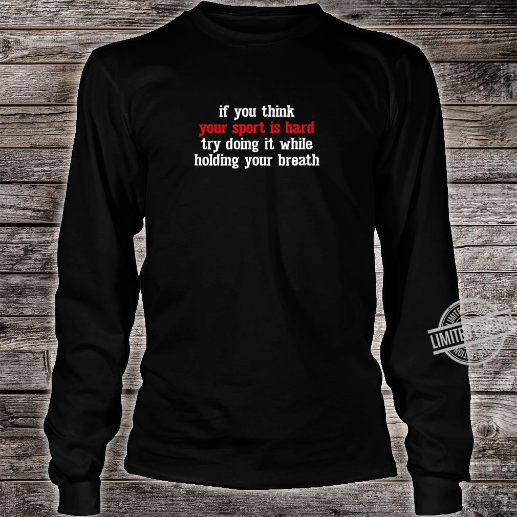 I Am A Swimmer Swim Swimming Cool Practice Shirt long sleeved