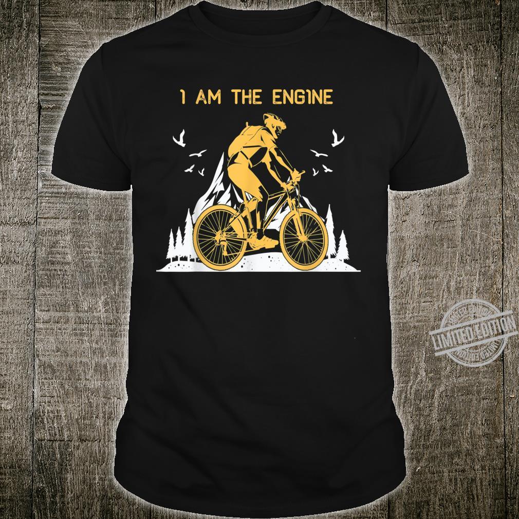 I Am THe Engine Vintage Downhill MTB Mountain Bike Shirt