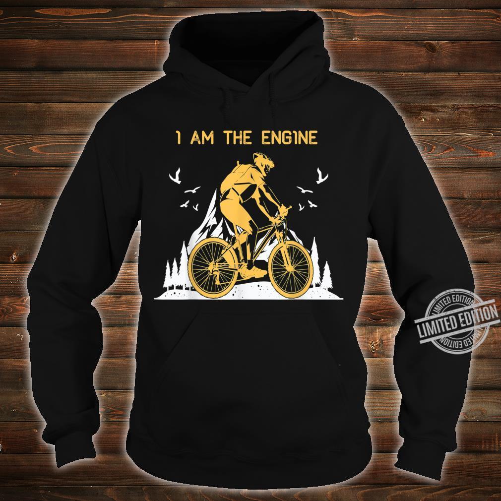 I Am THe Engine Vintage Downhill MTB Mountain Bike Shirt hoodie