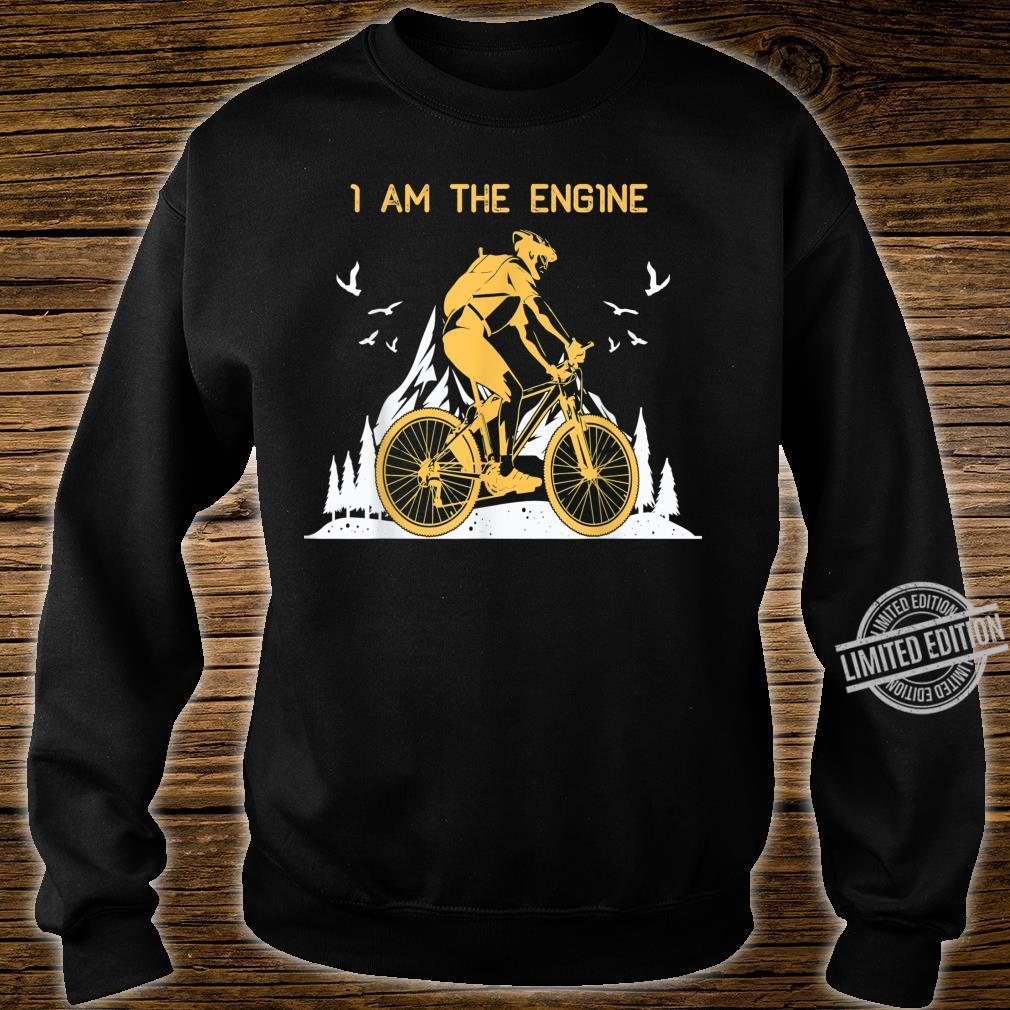 I Am THe Engine Vintage Downhill MTB Mountain Bike Shirt sweater