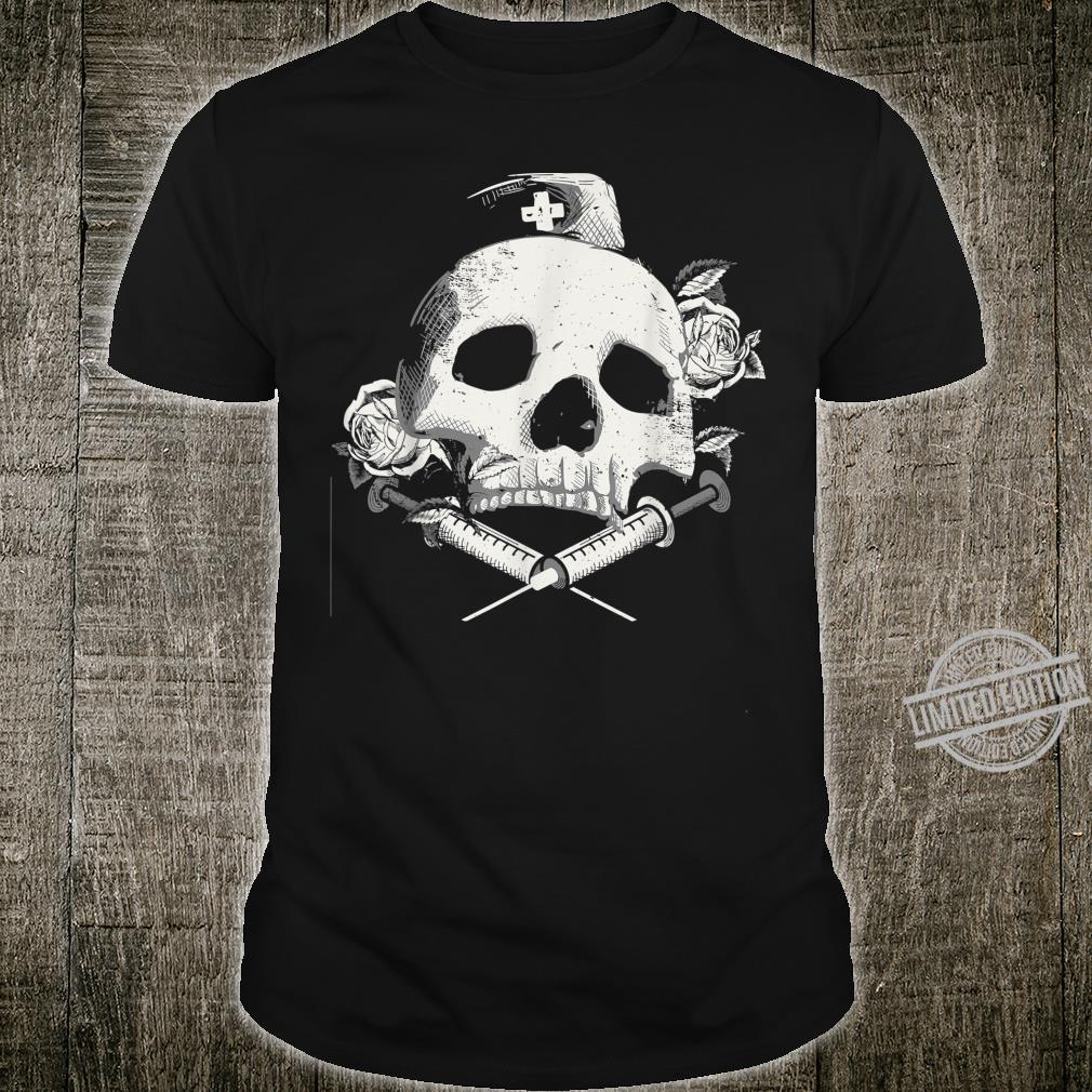 I'll Stab You Nurse gift, Medical, Skull design Shirt