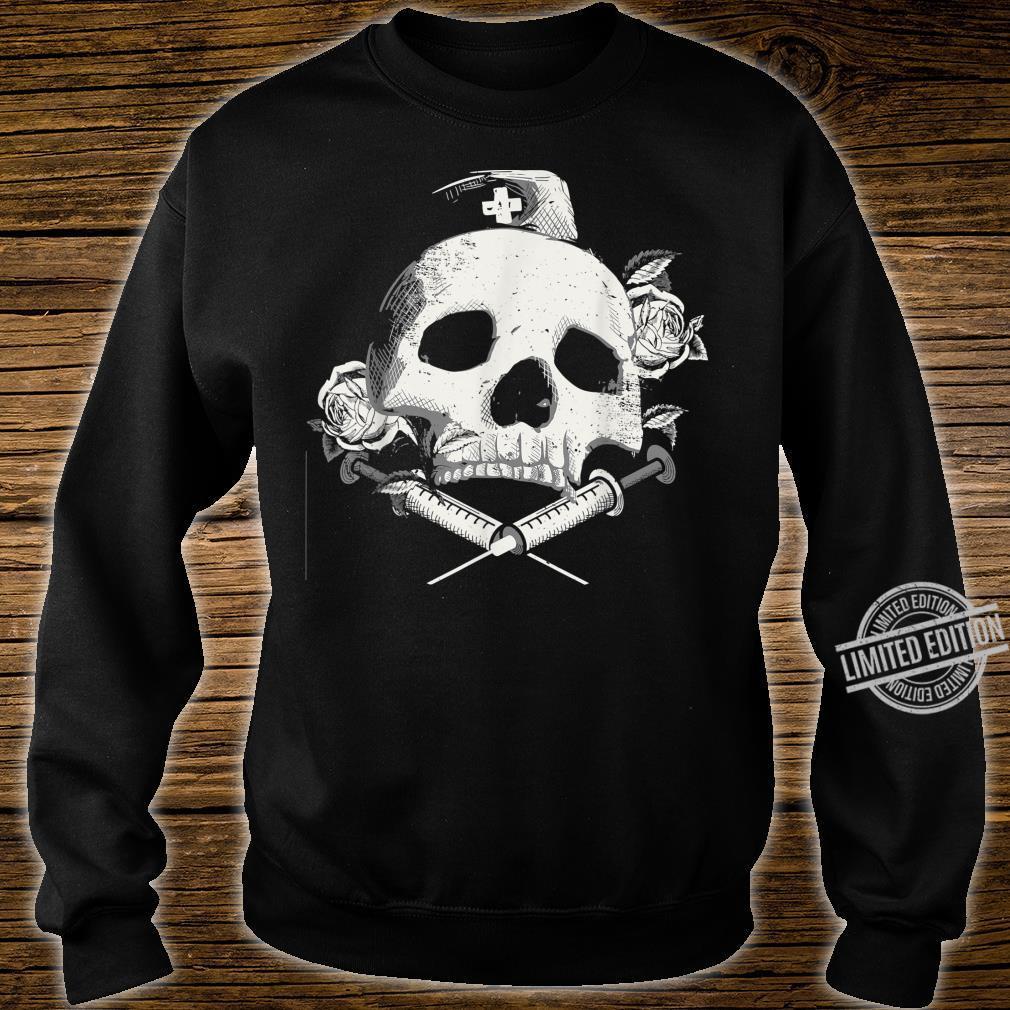I'll Stab You Nurse gift, Medical, Skull design Shirt sweater