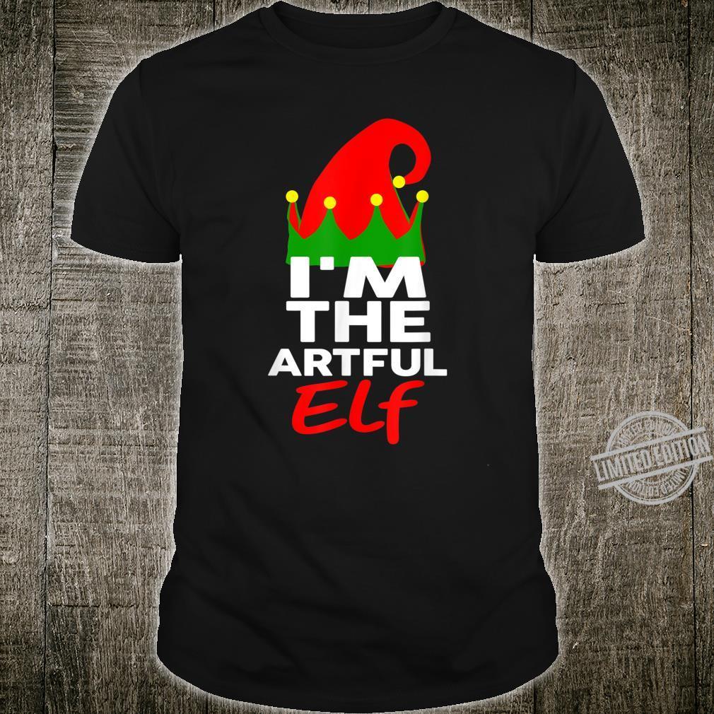 I'm The Artful Elf Family Christmas Group Matching Shirt