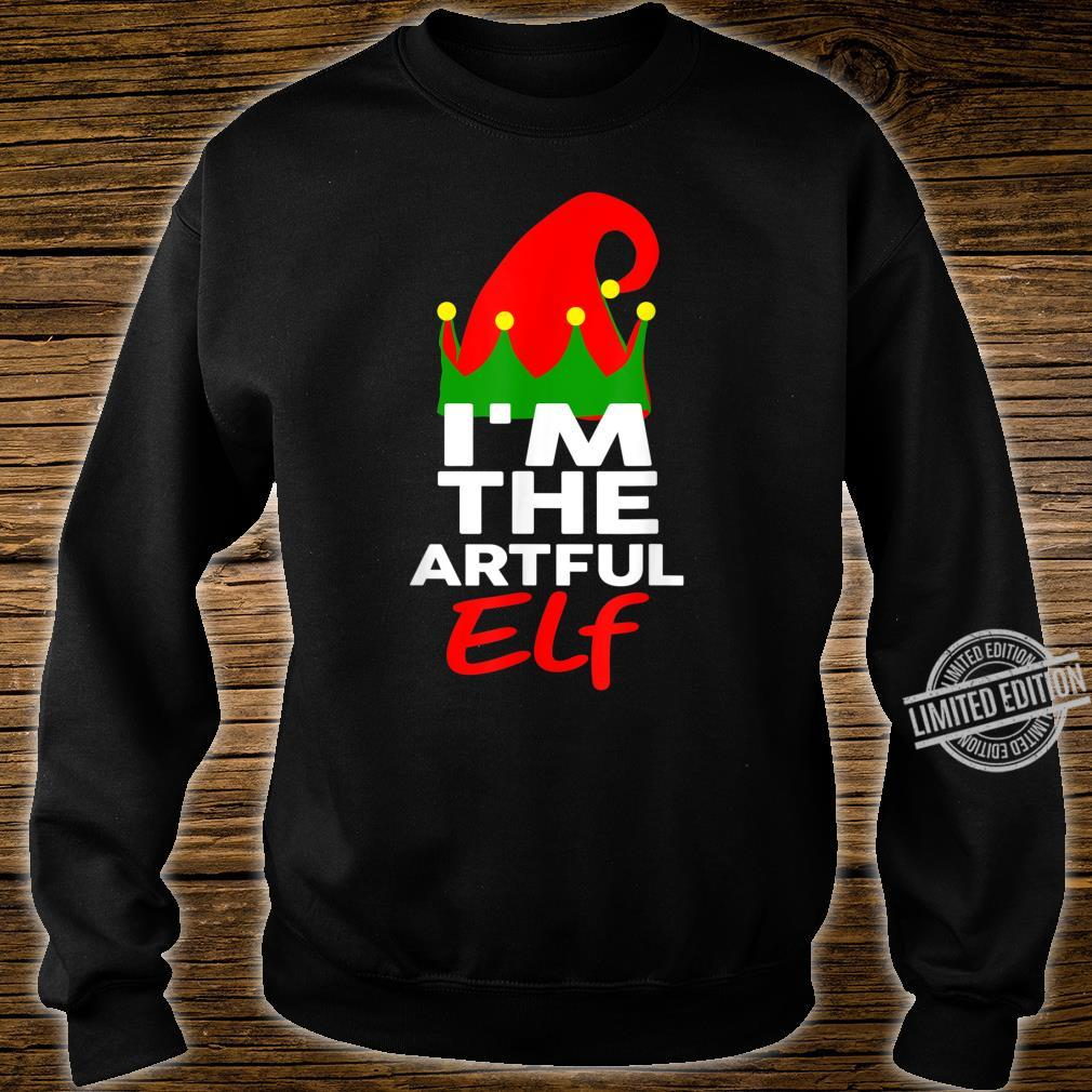 I'm The Artful Elf Family Christmas Group Matching Shirt sweater