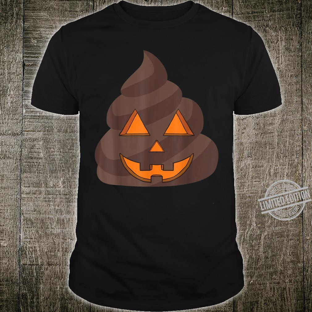 JackOLantern Halloween Poop Pumpkin Costume Celebration Shirt