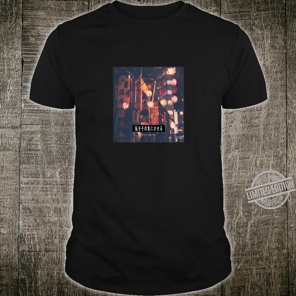 Japan Asia Tokyo City Light Present Shirt