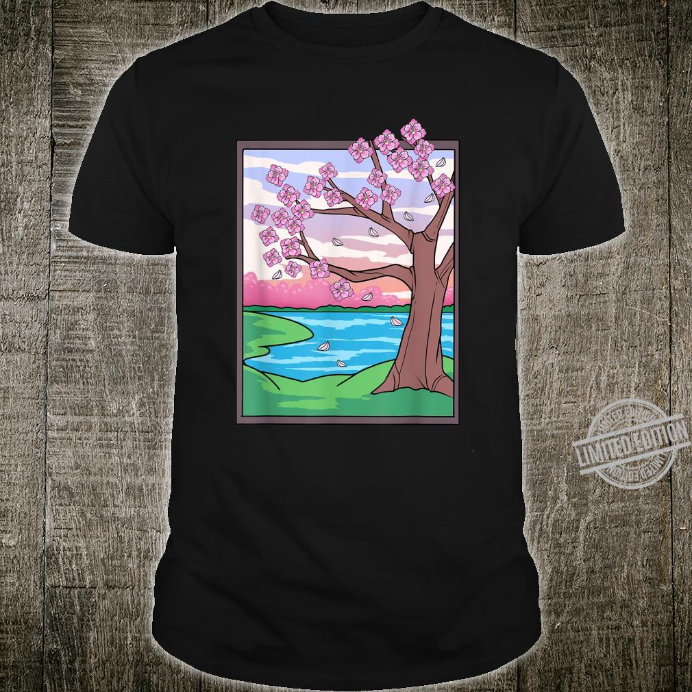 Japan Cherry Blossoms Art Style Cherry Blossom Shirt