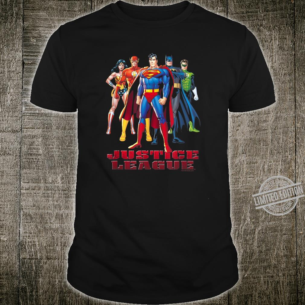 Justice League In League Shirt