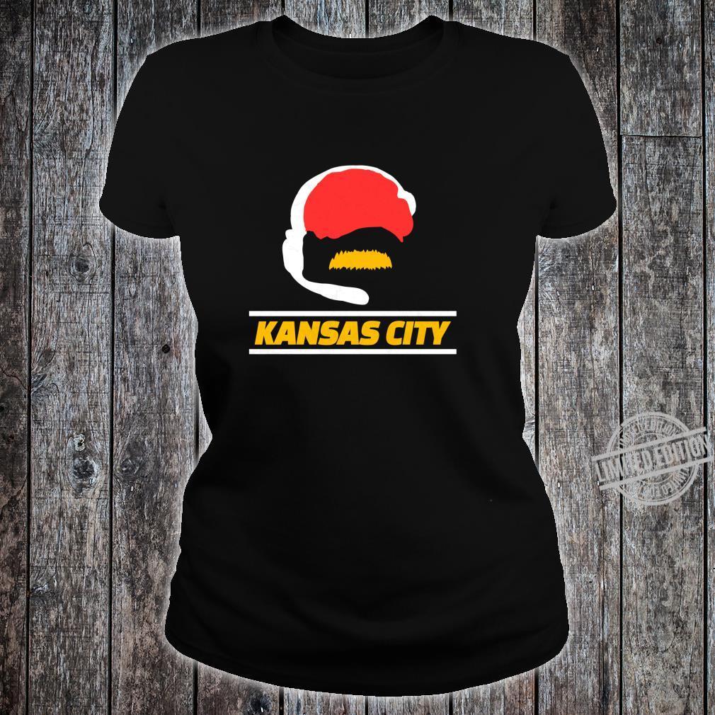 KC 2020 Football Fan Kansas City Red Sports Fan Gear Kc Shirt ladies tee