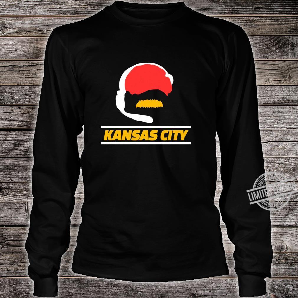 KC 2020 Football Fan Kansas City Red Sports Fan Gear Kc Shirt long sleeved