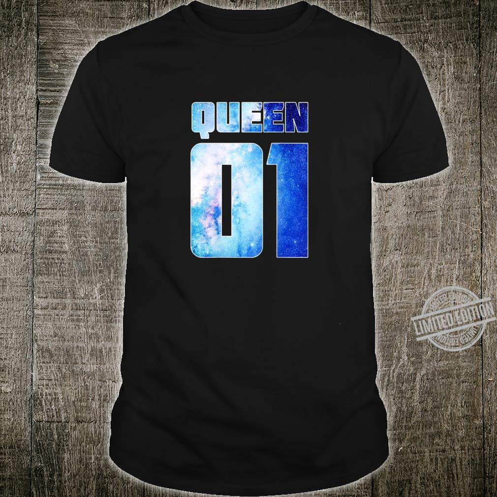 King & Queen 01 Partner Geschenke Pärchen Valentinstag Shirt