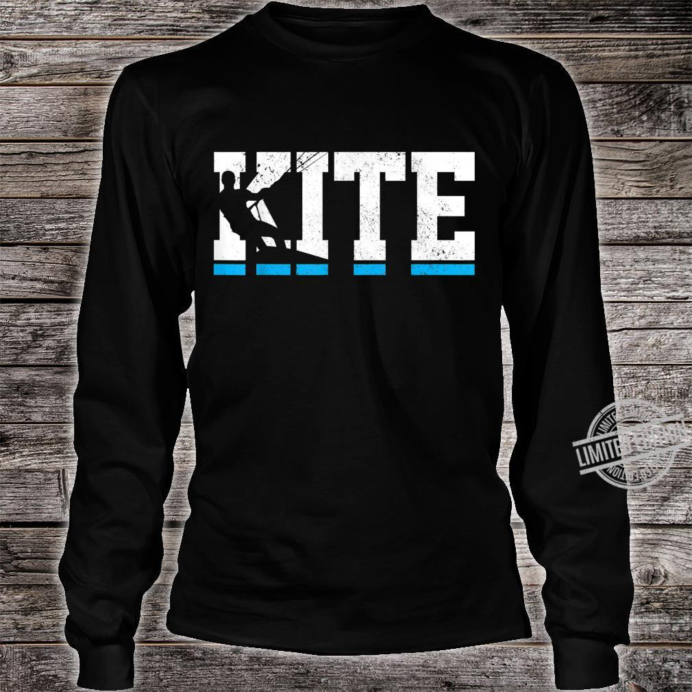 Kitesurfing Kiteboarding Kitesurf Kite Surfing Surfer Shirt long sleeved