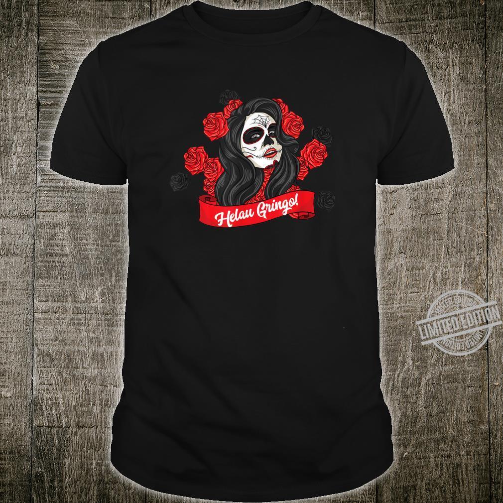 Kostüm Fasching Karneval Helau Alaaf Ahoi Totenkopf Mädchen Shirt