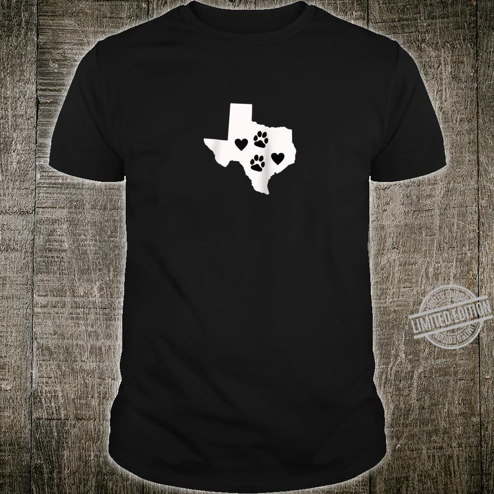 Love Dogs Texas Cute Design Shirt