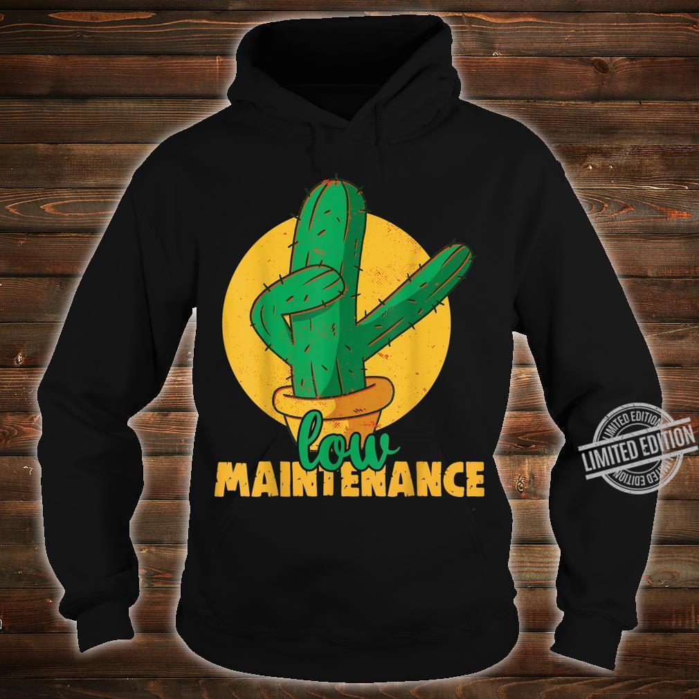 Low maintenance Cactus Plants Indoor Gardening Shirt hoodie