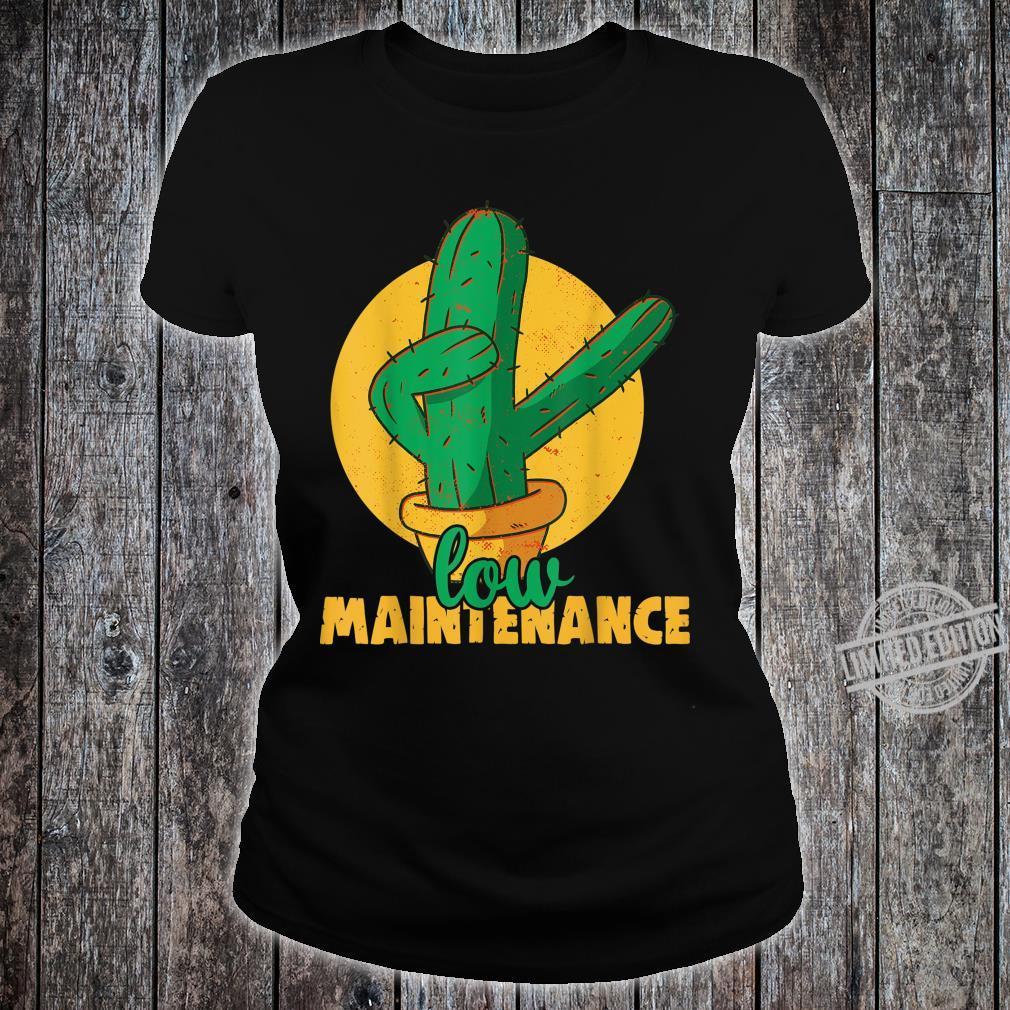 Low maintenance Cactus Plants Indoor Gardening Shirt ladies tee