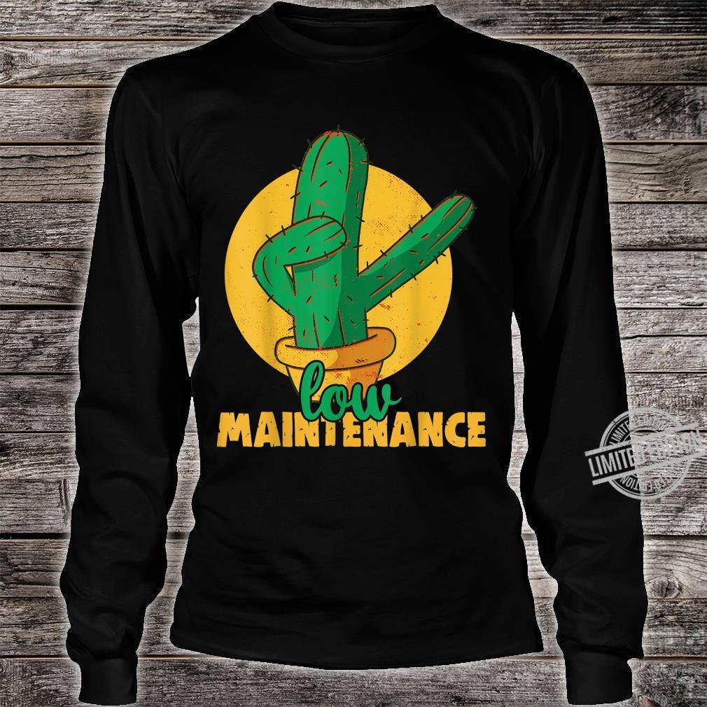Low maintenance Cactus Plants Indoor Gardening Shirt long sleeved