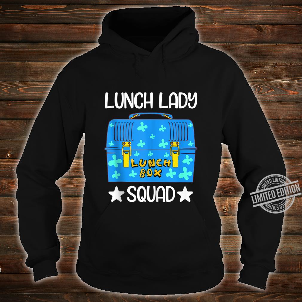 Lunch Lady Lunch Box Squad Bento Box Design Lunchbox Shirt hoodie