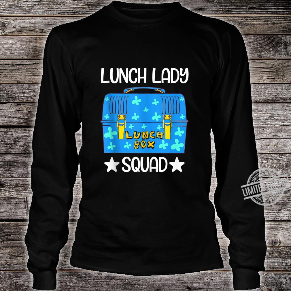 Lunch Lady Lunch Box Squad Bento Box Design Lunchbox Shirt long sleeved