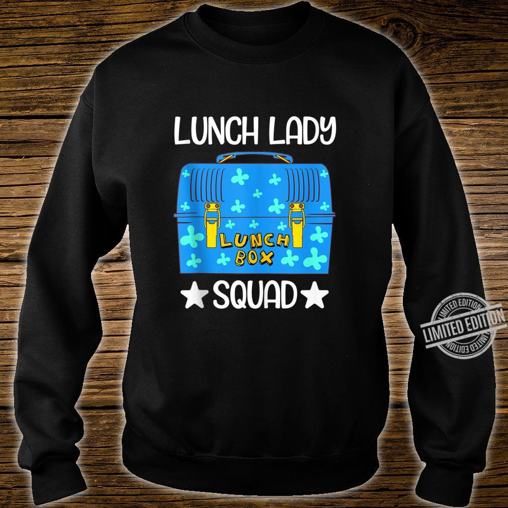 Lunch Lady Lunch Box Squad Bento Box Design Lunchbox Shirt sweater