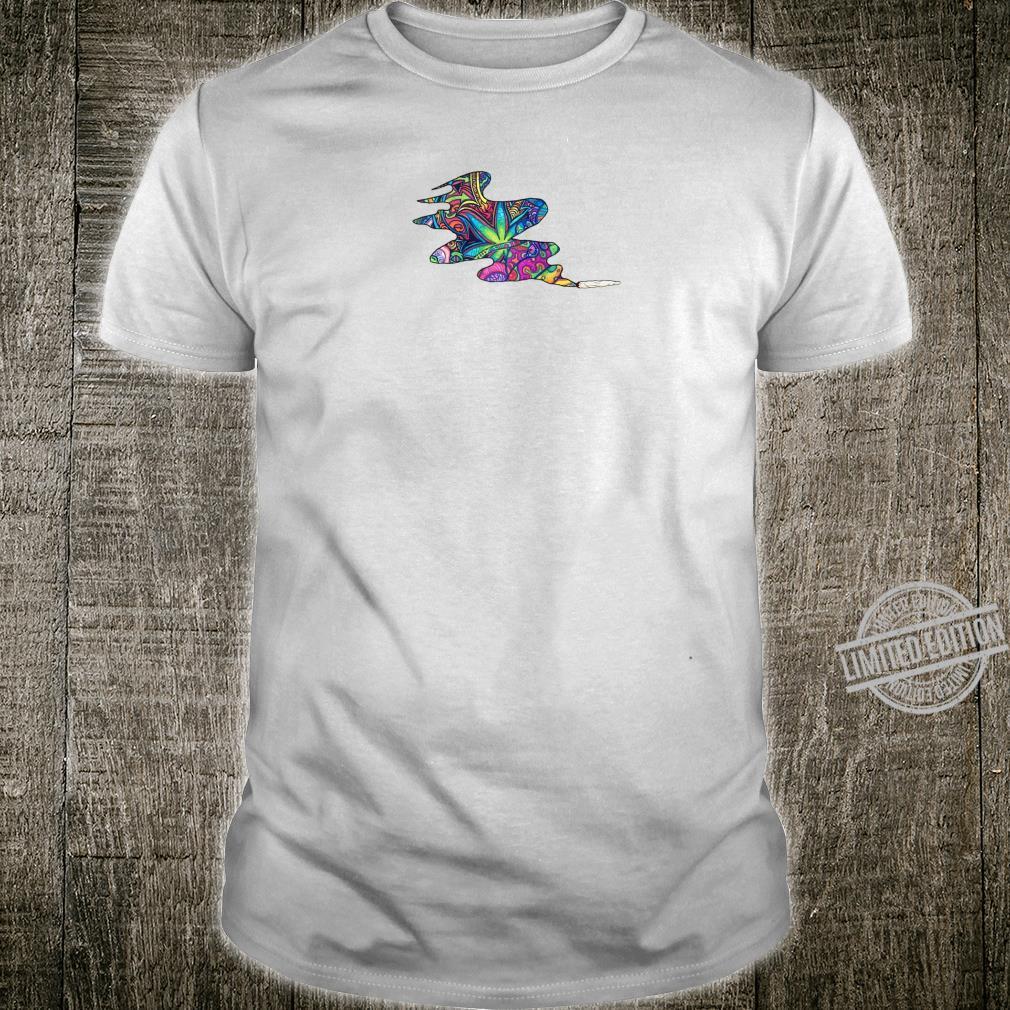 Marijuana leaf stoner high weed pot cannabis hemp novelty Shirt