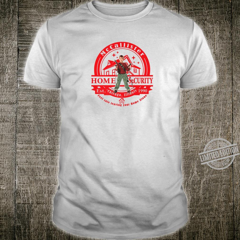 McCallister Home Security System Kid Shirt