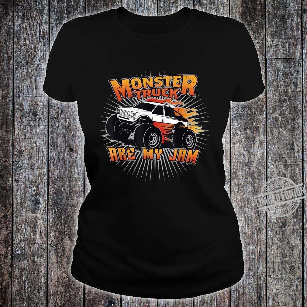 Monstertrucks sind meine Marmelade Shirt ladies tee