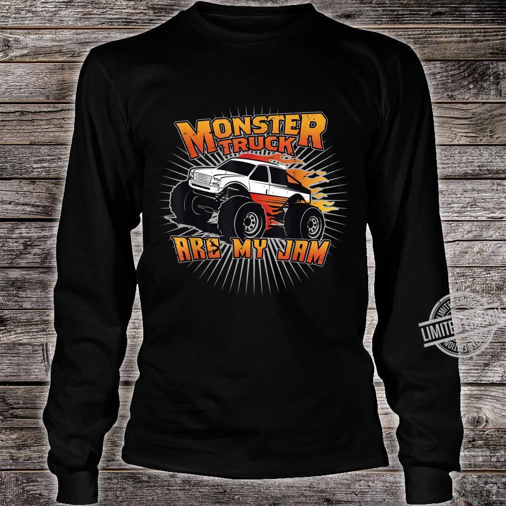 Monstertrucks sind meine Marmelade Shirt long sleeved
