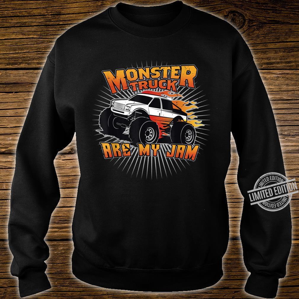 Monstertrucks sind meine Marmelade Shirt sweater