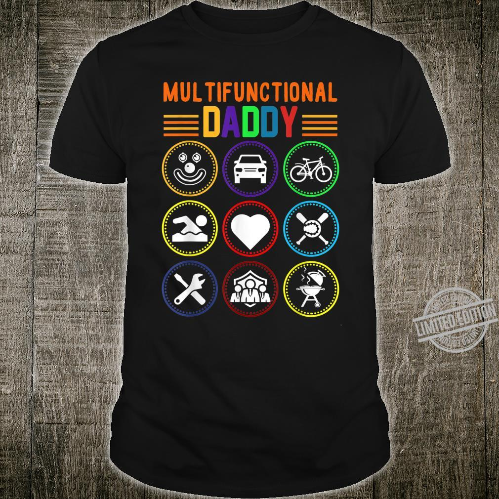 Multifunctional Daddy Father's Day Shirt