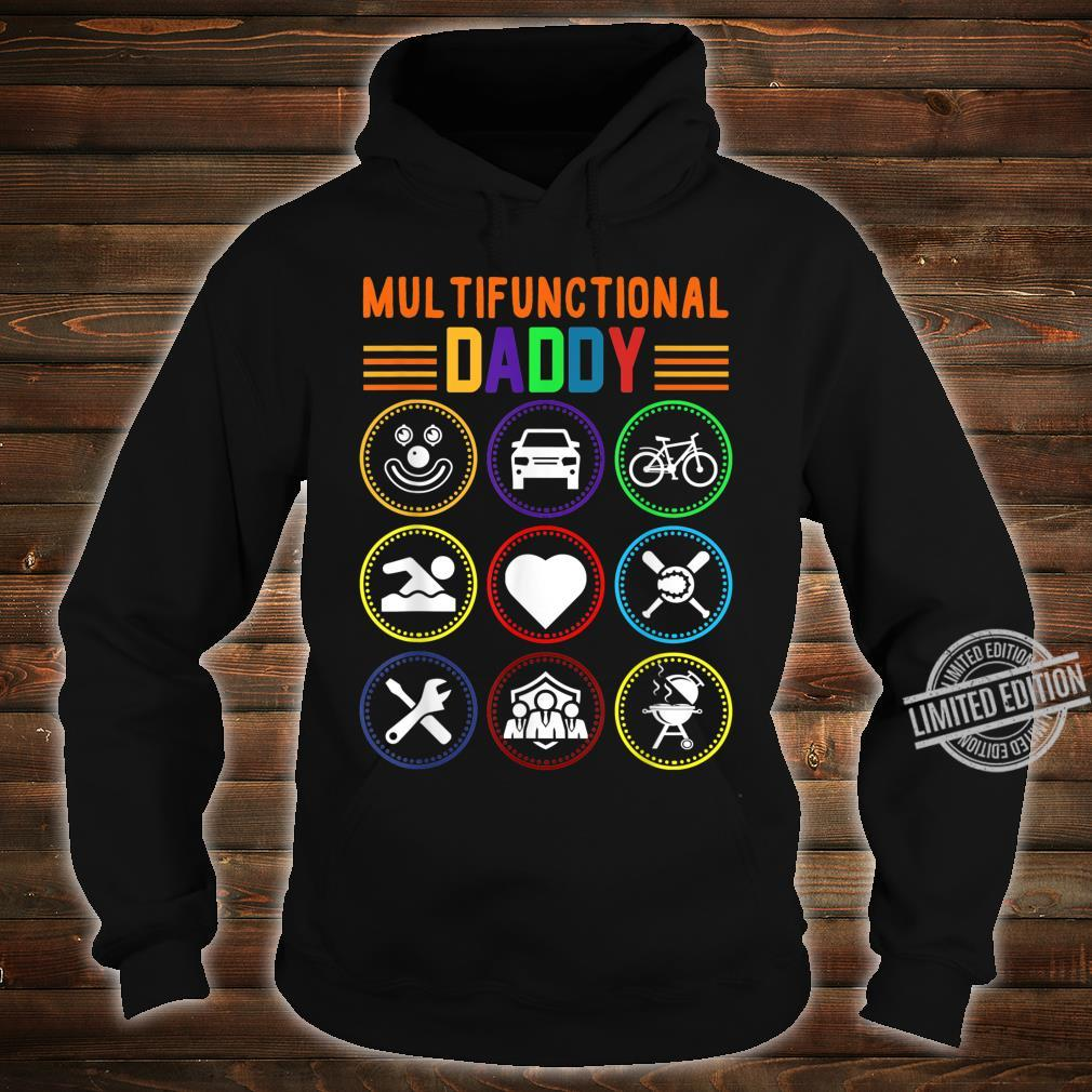 Multifunctional Daddy Father's Day Shirt hoodie