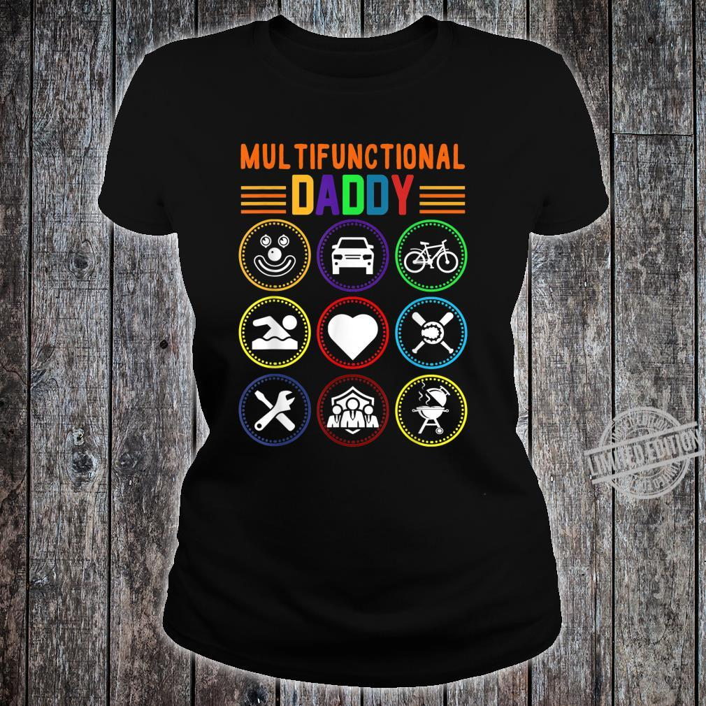 Multifunctional Daddy Father's Day Shirt ladies tee