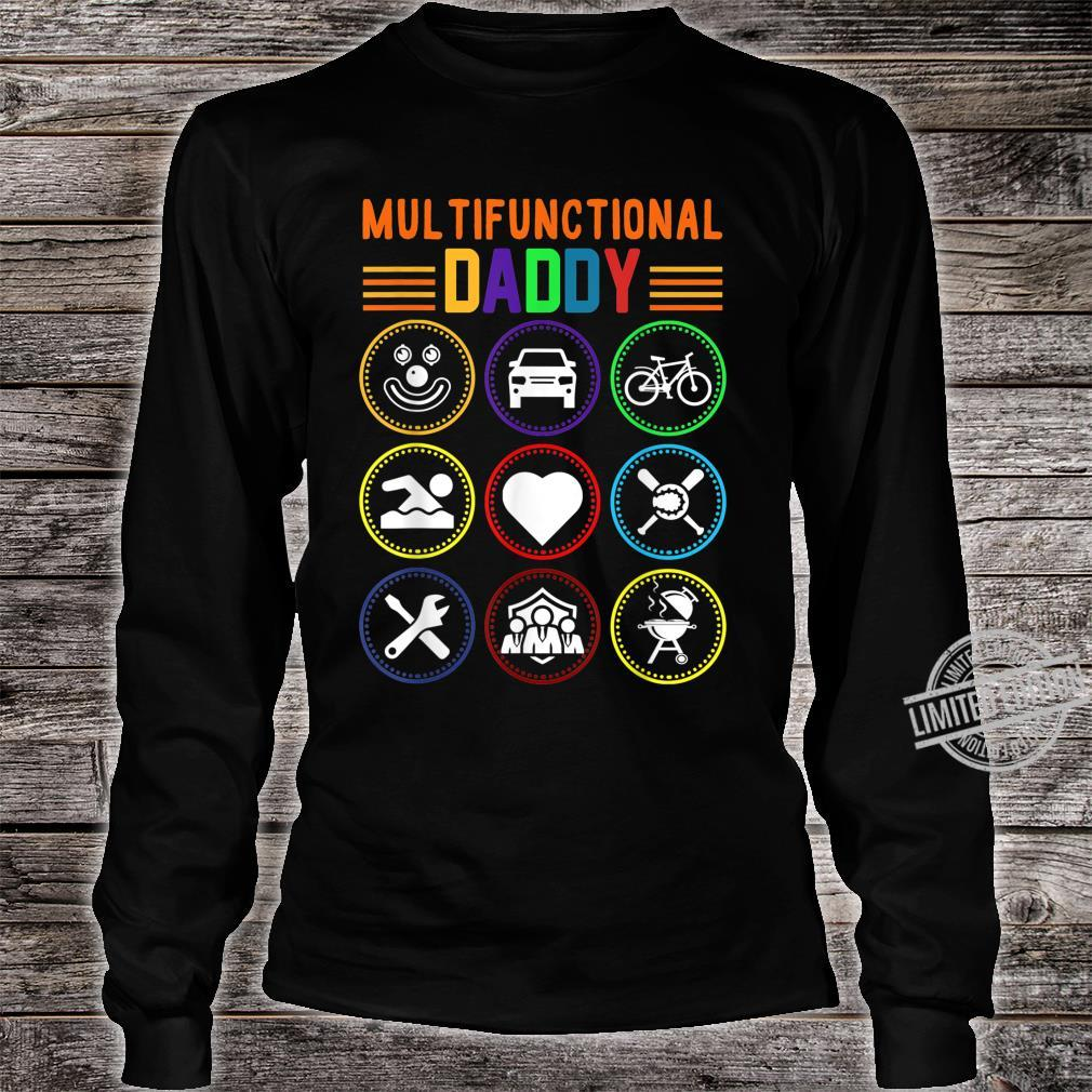 Multifunctional Daddy Father's Day Shirt long sleeved