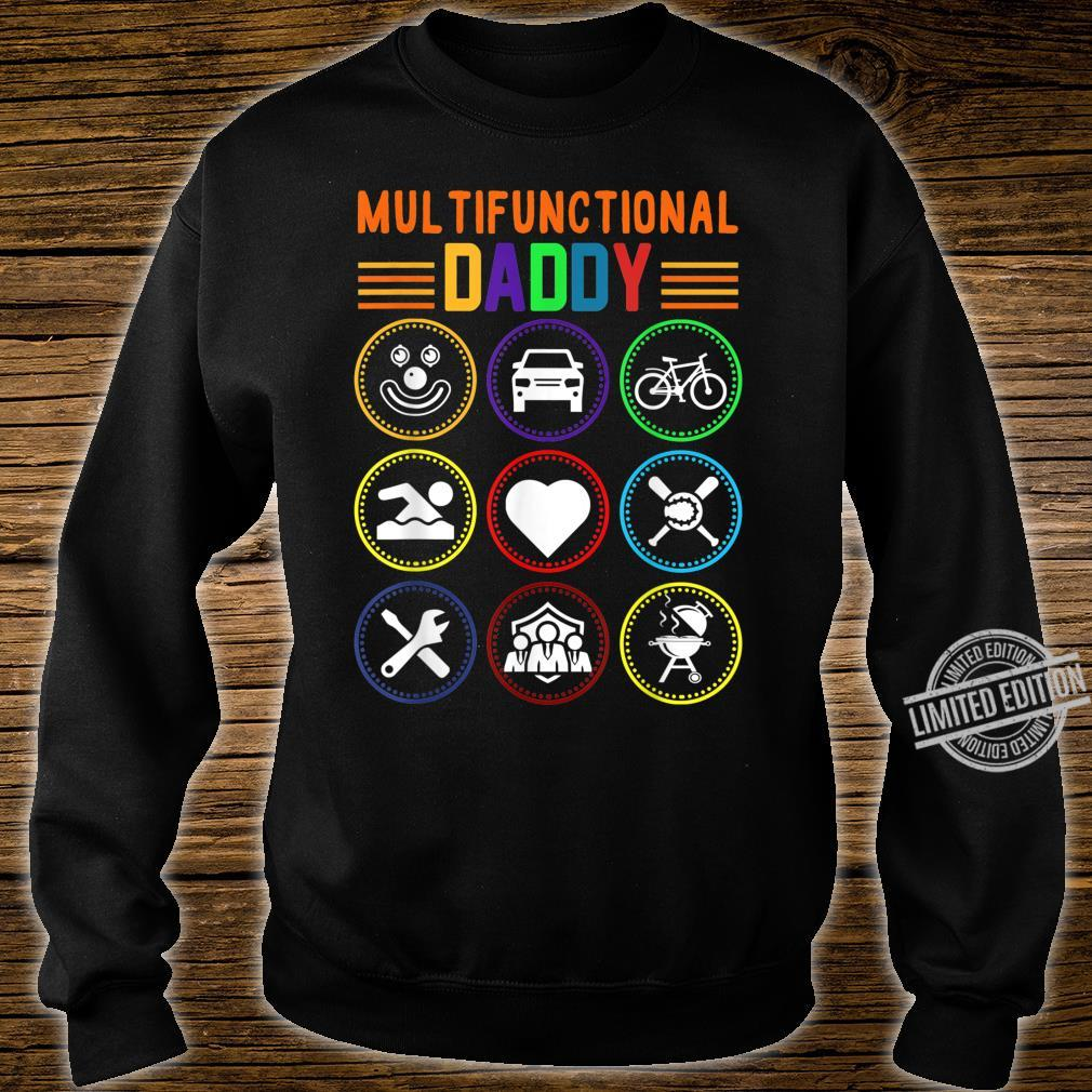 Multifunctional Daddy Father's Day Shirt sweater