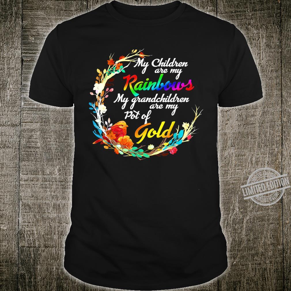 My Children Are My Rainbows My Grand Children Are My Gold Shirt