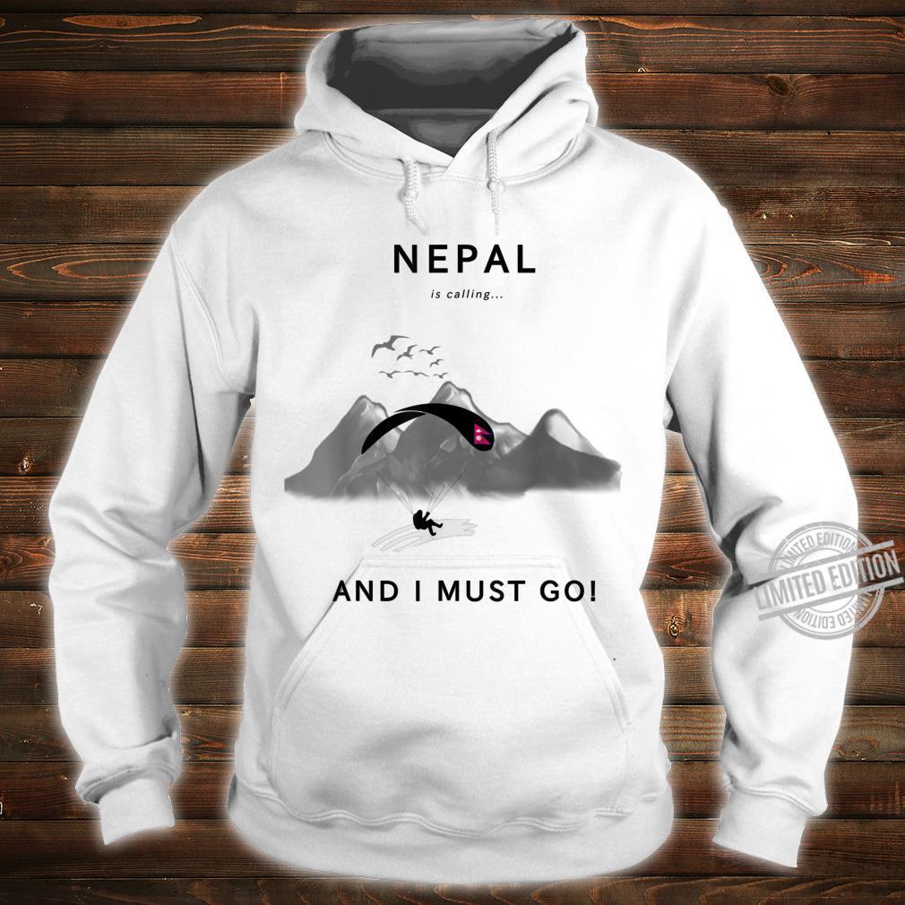 Nepal is calling Shirt hoodie