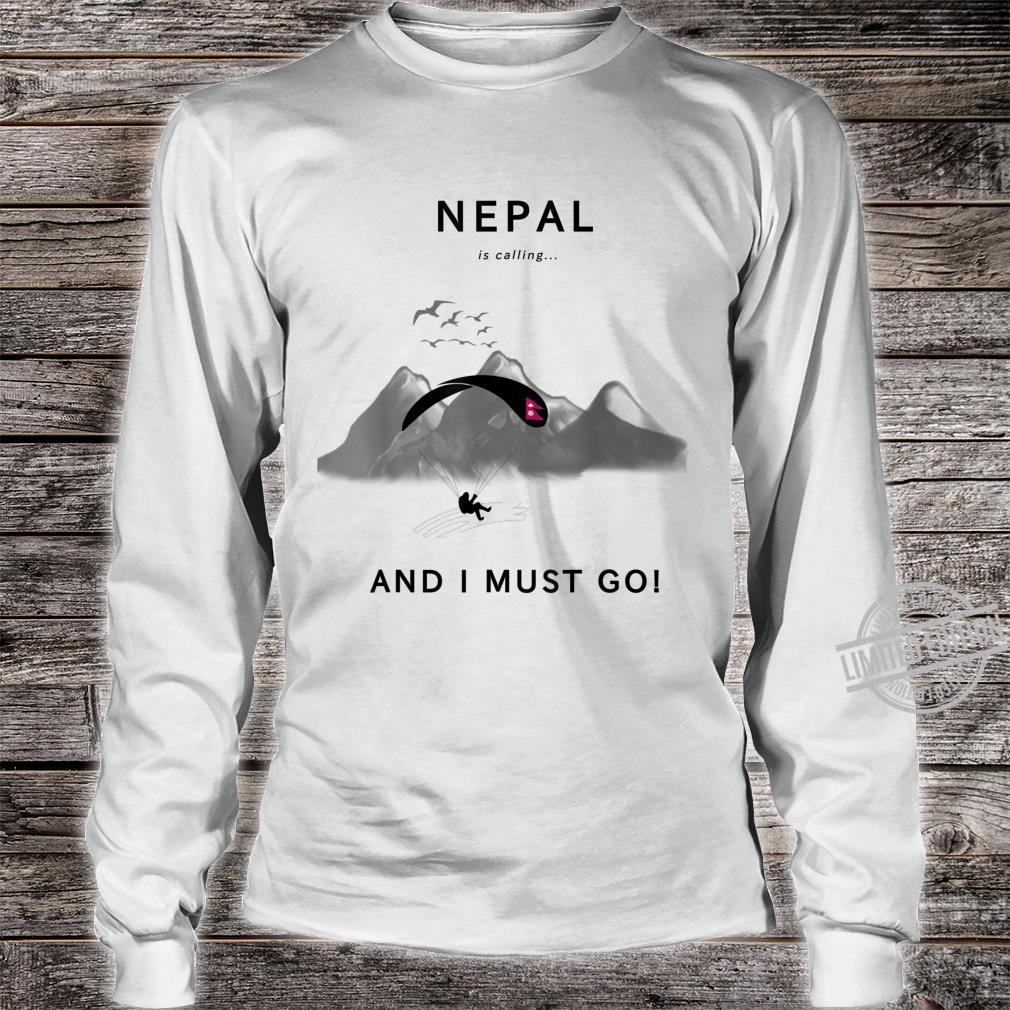Nepal is calling Shirt long sleeved