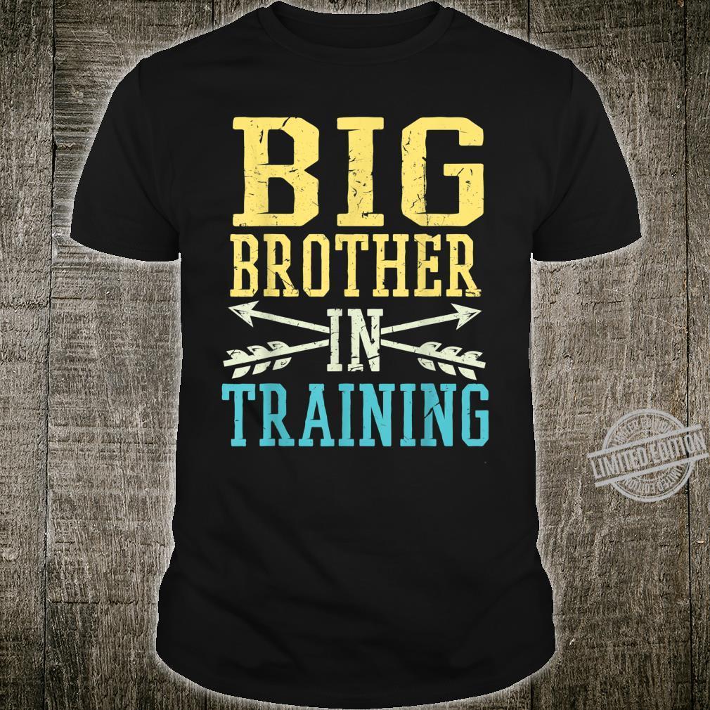 New Big Brother in Training Soon Big Bro Shirt