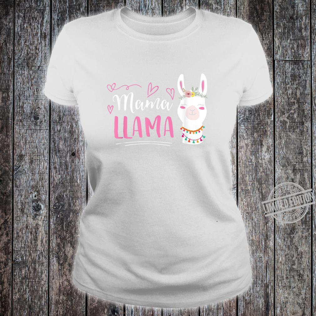 No Drama LLama Shirt ladies tee