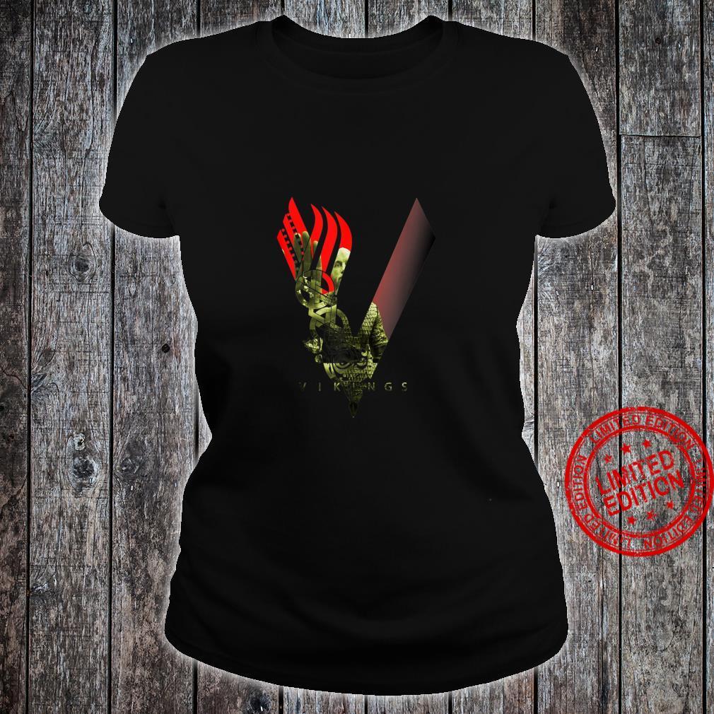 Nordic Viking Design Idea Shirt ladies tee