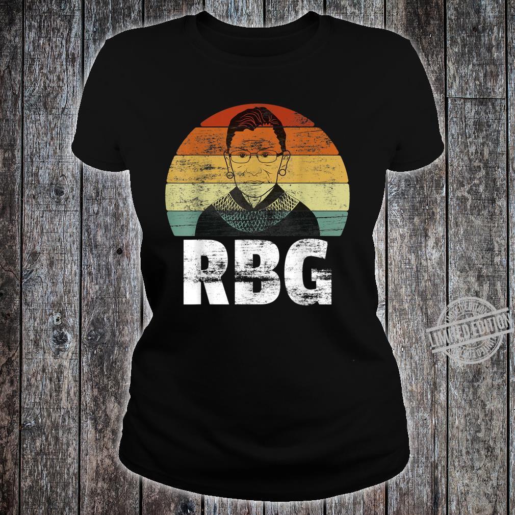 Notorious RBG Ruth Bader Ginsburg Rights Vintage Shirt ladies tee