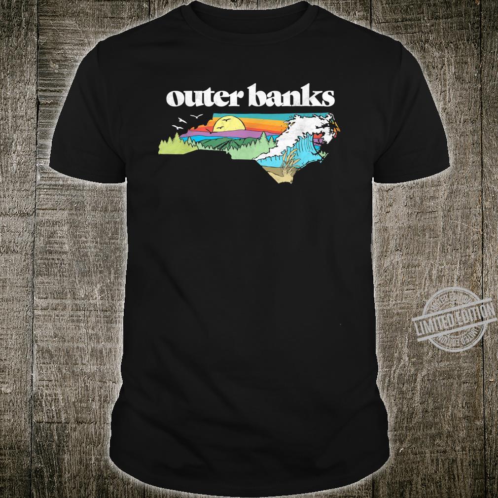 Outer Banks North Carolina Outdoors Retro Nature Shirt