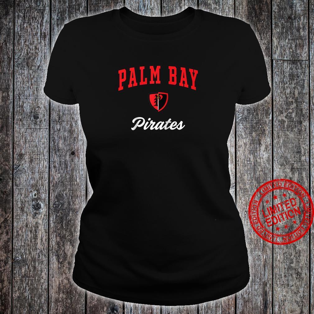 Palm Bay High School Pirates Shirt ladies tee