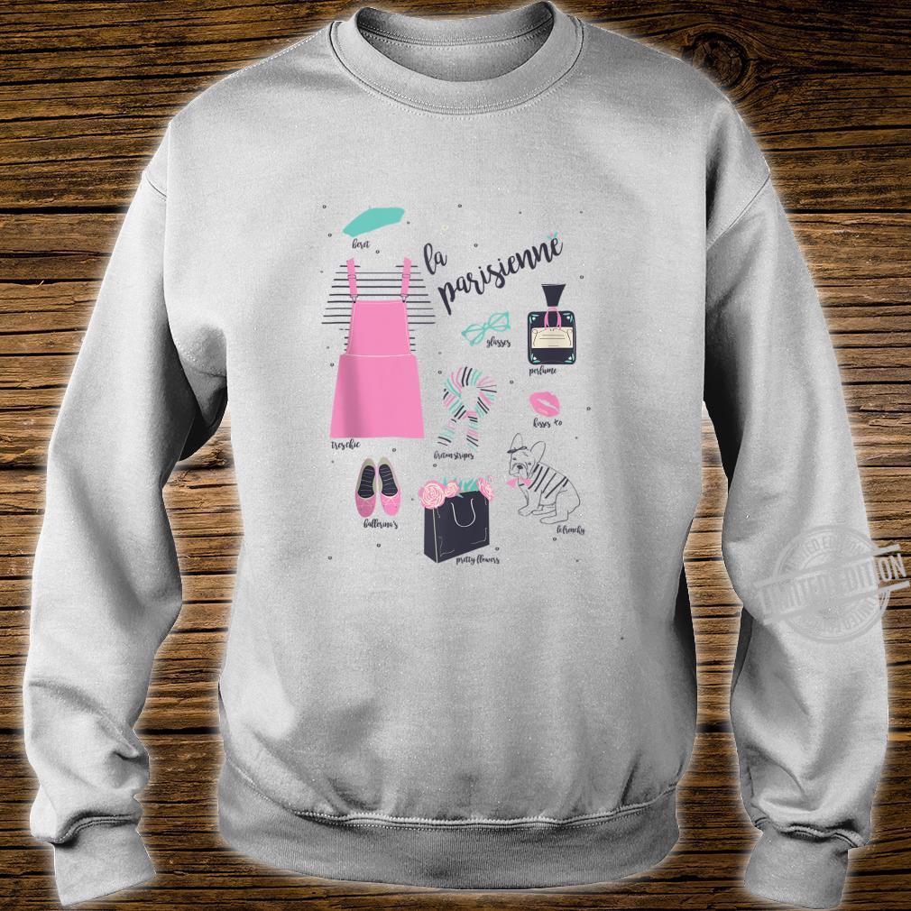 Paris Eiffel Tower Retro Souvenir French La Parisienne Shirt sweater