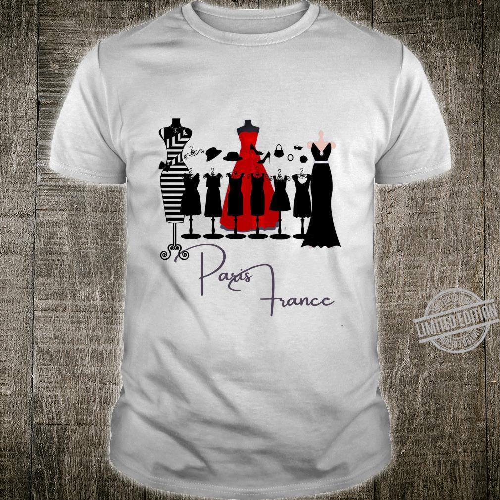 Paris France Fashion Shirt