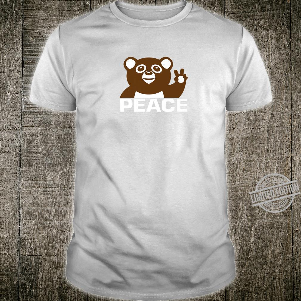 Peace Bear Shirt