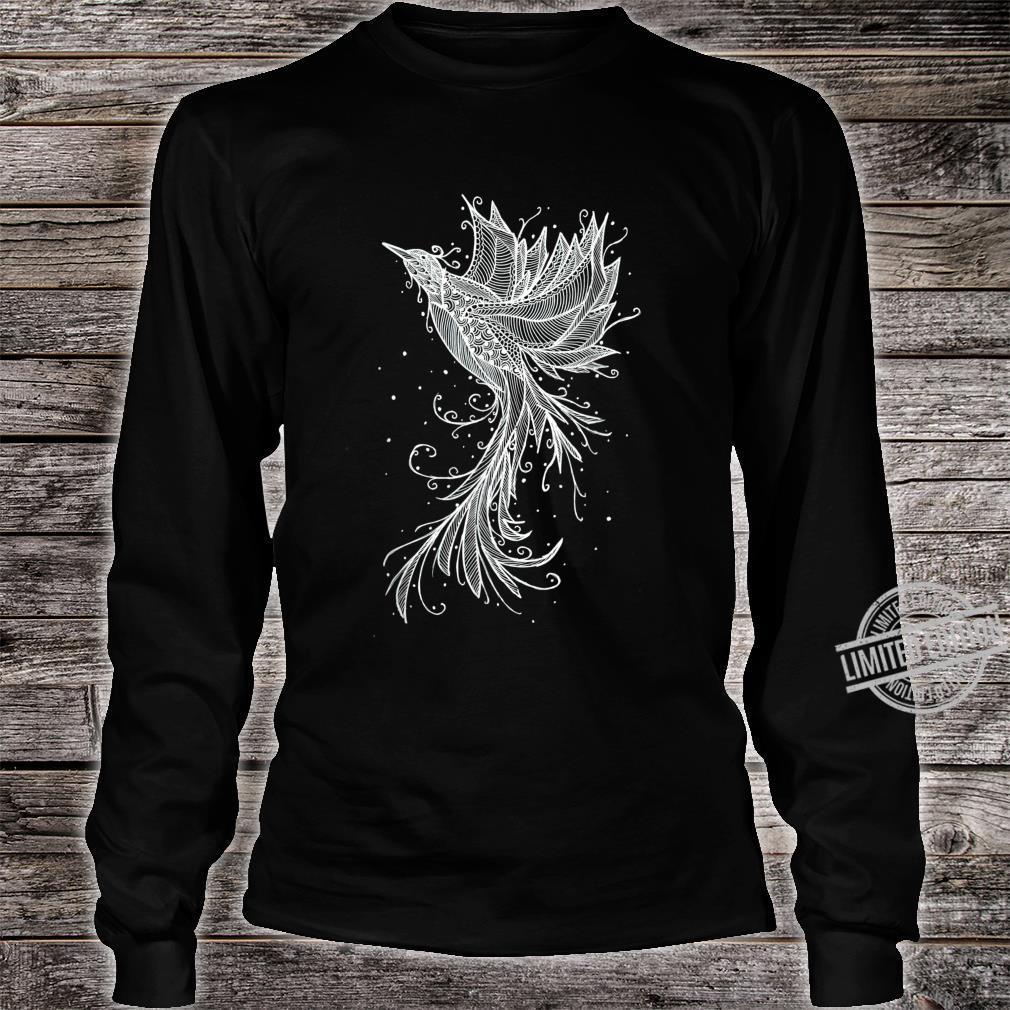 Phoenix Bird Tattoo Shirt long sleeved