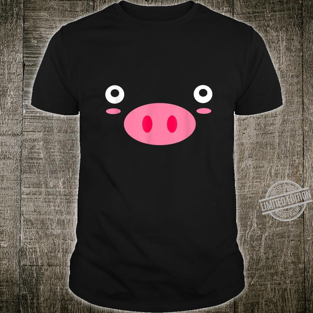 Pig Face Pig Cute Shirt