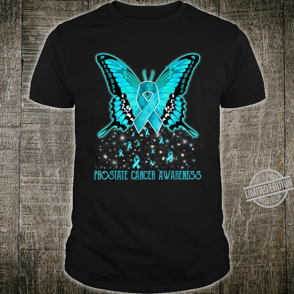 Prostate Cancers Awareness Butterfly Shirt